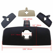 1x Car Black Inner Storage Glove Box Cover Handle Lid Lock Hole for VW Passat B5
