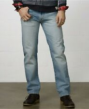 NWT Polo Ralph Lauren Jeans 'The Bootcut' Warp Stretch - Mens 32x32 Light wash