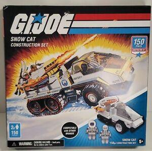 G.I. Joe Snow Cat Construction Set 150 Pieces Hasbro NIB
