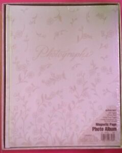 Amscan Weddings Magnetic Page Photo Album Floral Romance #44678