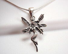 Fairy Necklace 925 Sterling Silver Corona Sun Jewelry Goddess Spirit