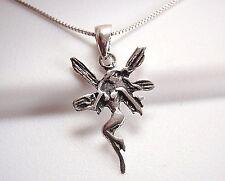 Fairy Pendant 925 Sterling Silver Corona Sun Jewelry Goddess Spirit