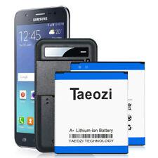 2x 3300mAh Replacement Battery + Charger Fit Samsung Galaxy J3 V Sm-J320V J320A