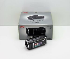 JVC EVERIO GZ-HM301 CAMCORDER BOXED SDXC CARD HIGH DEFINITION DIGITAL HD VIDEO