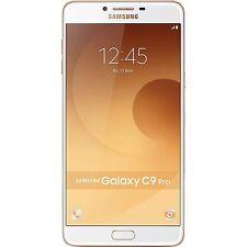 "Samsung India Warranty New Samsung Galaxy C9 Pro Duos Dual 64GB 6GB 6"" 16MP Gold"
