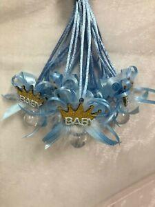 """""""Little Princes/Princess"""" Crown Necklaces Baby Shower Games Favors Prizes 12PC"""