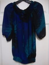 Ladies Small Blouse,  Sheer & Elegant , by Mossimo