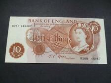 1967 FFORDE TEN SHILLING NOTE UNCIRCULATED CONDITION LAST SERIES, DUGGLEBY B310