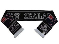 New Zealand Scarf - Rugby Football Soccer Hockey - Made in UK