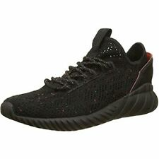 adidas Originals Tubular Doom Sock PrimeKnit J Size 3 Black RRP £60 Brand New