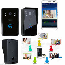 Wireless WiFi IR Video Camera Door Bell Phone Rainproof Doorbell Home Security