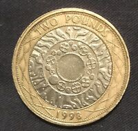 1998 £2 COIN  STANDING ON THE SHOULDERS OF GIANTS Technology