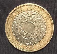 1998 £ 2 Coin in piedi sulle spalle dei giganti Technology