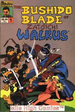 Bushido Blade Of Zatoichi Walrus (1986 Series) #1 Near Mint Comics Book