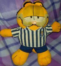 GARFIELD F.C. PORTO PLUSH - 30Cm - Figure Shirt Peluche Doll Pupazzo Cat