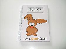 Zweiohrküken - Die Liste (Schreibblock)) NEU & OVP , #3