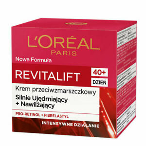 L'Oreal Revitalift 40+ Anti Wrinkle Day Cream Firming Hydrating Intensive Action