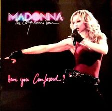 "MADONNA HAVE YOU CONFESSED? 12"" 2 LP PICTURE DISCS VINYL MEGA RARE"