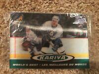 Paul Kariya Ducks 1997-98 Pinnacle Kraft 3-D World's Best #8 UNOPENED SEALED