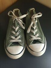 Converse All Star - Youth size 2 - Green