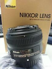 NEW Nikon Lens 50mm 1.8G Nikon AF-S 50mm f/1.8G Nikon DSLR Lens Nikkor 50mm 1.8G