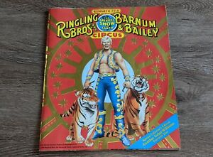 Ringling Bros Barnum Bailey Circus 1990 Souvenir Program Gunther Gebel-Williams