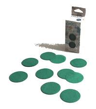 Confettis de scène en forme de ronds vert jade 100 grammes papier de soie 22609