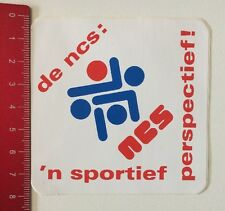 Aufkleber/Sticker: De Ncs 'n Sportief Perspectief (170516113)