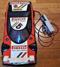LANCIA STRATOS HF n° 5 ELLEGI PIRELLI macchina giocattolo filocomandata toy car