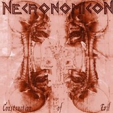 NECRONOMICON (GER) - Construction Of Evil CD
