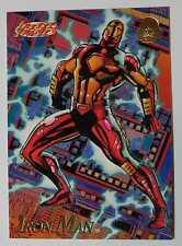 IRON MAN Rare Promo Card _ Universe 1994 MARVEL Freeze Frames SUPER HEROES