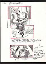 SHE'S OUT OF CONTROL 1989 ORIGINAL STORYBOARD ART ALTERNATES CARL ALDANA #2 alt