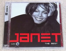 JANET JACKSON Best Of Double 2 CD SOUTH AFRICA Cat# STARCD 7425