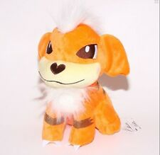 Nintendo Pokemon Center Growlithe Dog Plush Soft Toy Stuffed Doll 12 inches US