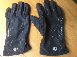 QI Pearl Zephrr Windproof Waterproof Cycling Walking Outdoor Gloves Size Medium