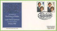 G.B. 1981 Royal Wedding on Post Office First Day Cover, Caernarfon