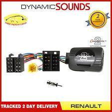 CTSRN005.2AA Adaptador de Botones Palanca + Antena para Renault Clio Kangoo