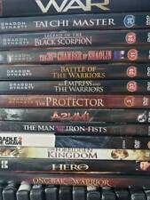Dvd Movie Collection Martial Arts Lot You Pick $1.00-$2.00ea