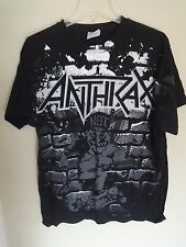 Vintage Anthrax Band 2000's Tour Band Graphic Printed 1 Sided T-Shirt Men Large