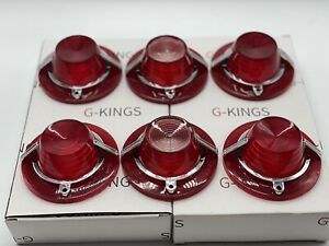 1962 Chevrolet Impala Tail Light Back Up Lamp Lens With Chrome Set Limited Offer