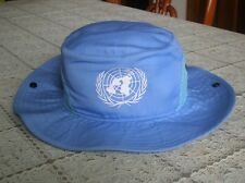 China Pla Army United Nations Blue Boonie Hat