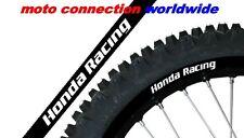 BLACKBIRD HONDA RACING FACTORY RIM STICKERS BLACK FOR CR125 CR250 CRF250 CRF450