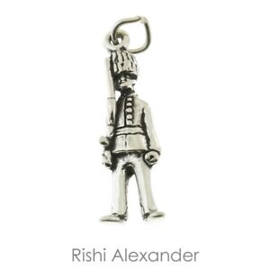 925 Sterling Silver Beefeater Buckingham Palace Guard Charm Made in USA