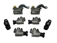 Set of Six Brake Wheel Cylinders for MG TD TF T Series 4 Front 2 Rear + Boots