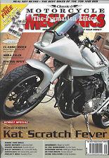 CB450 Black Bomber Honda CB750F SOHC GSX1100SZ Katana Rickman CR900 SRX600 YDS7