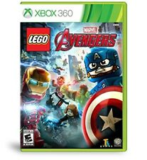 XBOX 360 GAME LEGO MARVEL AVENGERS BRAND NEW AND SEALED