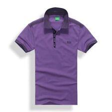 Классические мужские повседневные чистый хлопок с коротким рукавом, рубашка-поло футболка футболка мужские рубашки