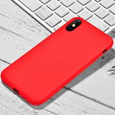 For Apple iPhone XR Xs Max X 8 7 Plus 6 Se 2020 Case Cover Soft Silicone Rubber