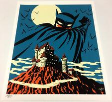 Michael Cho SIGNED DC Comic JLA Fine Art Print ~ Batman The Dark Knight