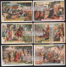 Holy Crusades Jerusalem Palestine 6 BEAUTIFUL c1910 Trade Ad  Cards
